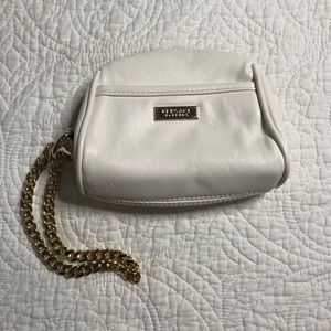 Versace Parfums Cream Wristlet